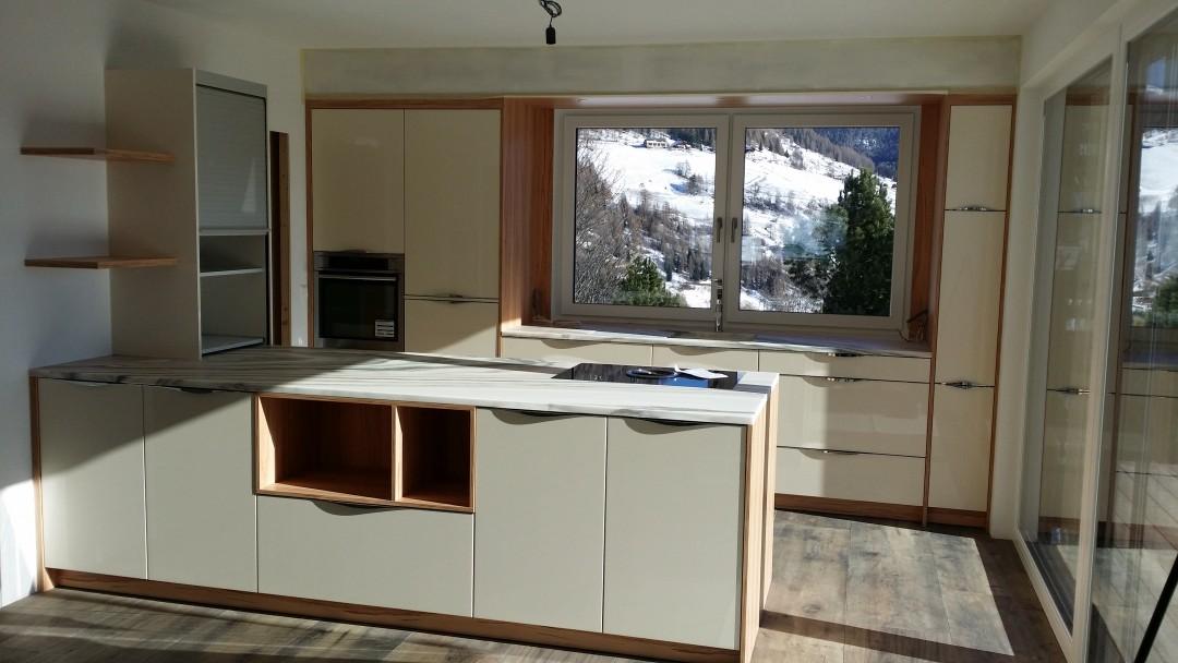 Küche mit Aussicht (Turracherhöhe)